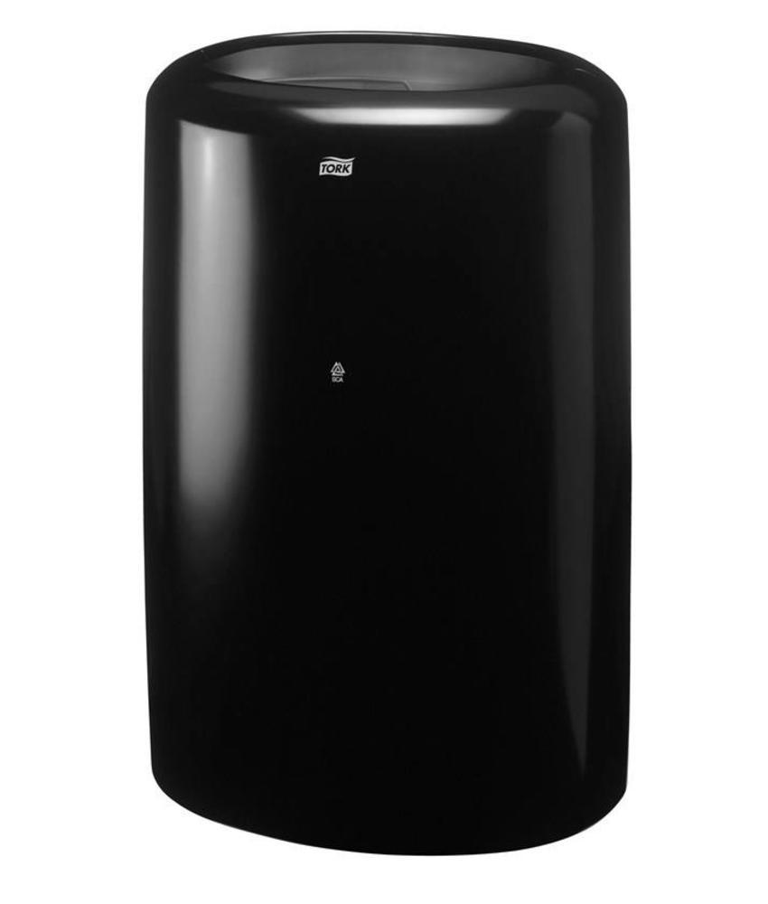 Tork Afvalbak Kunststof Zwart 50 liter B1