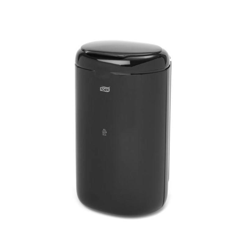 Tork Afvalbak Mini Kunststof Zwart 5 liter B3