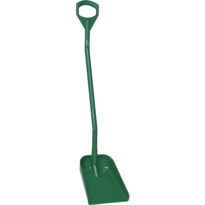 Vikan, Ergonomische schop, lange steel 1300mm, klein blad, groen