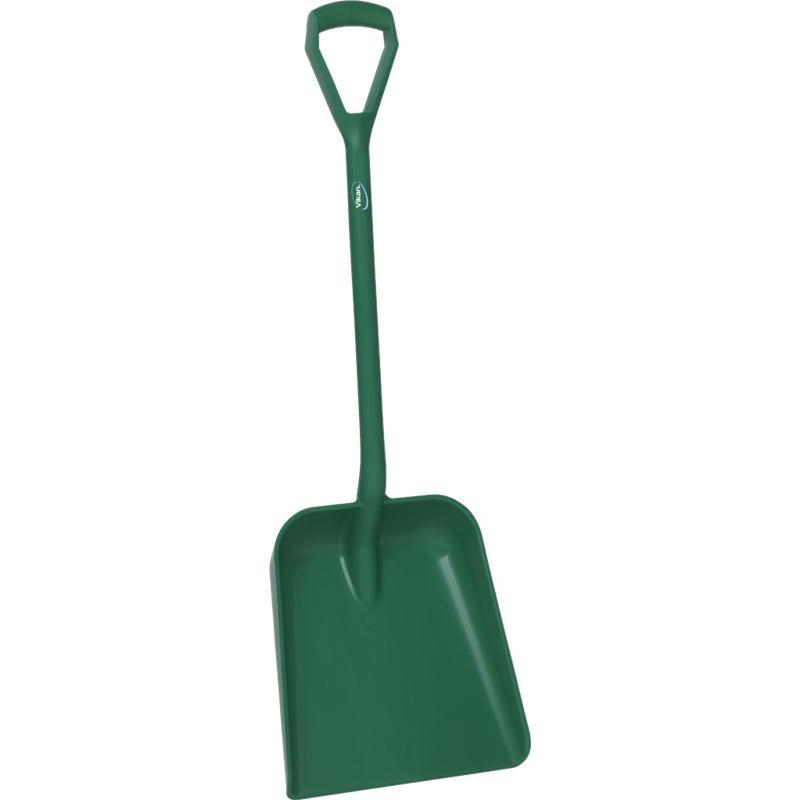 Vikan, Lichtgewicht schop D-greep, korte steel 1035 mm, groen