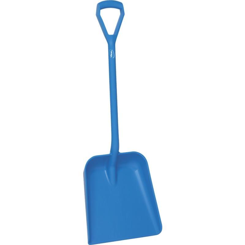 Vikan, Lichtgewicht schop D-greep, korte steel 1035 mm, blauw