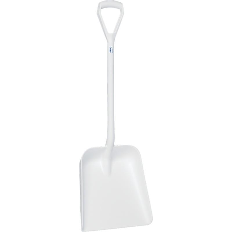 Vikan, Lichtgewicht schop D-greep, korte steel 1035 mm, wit