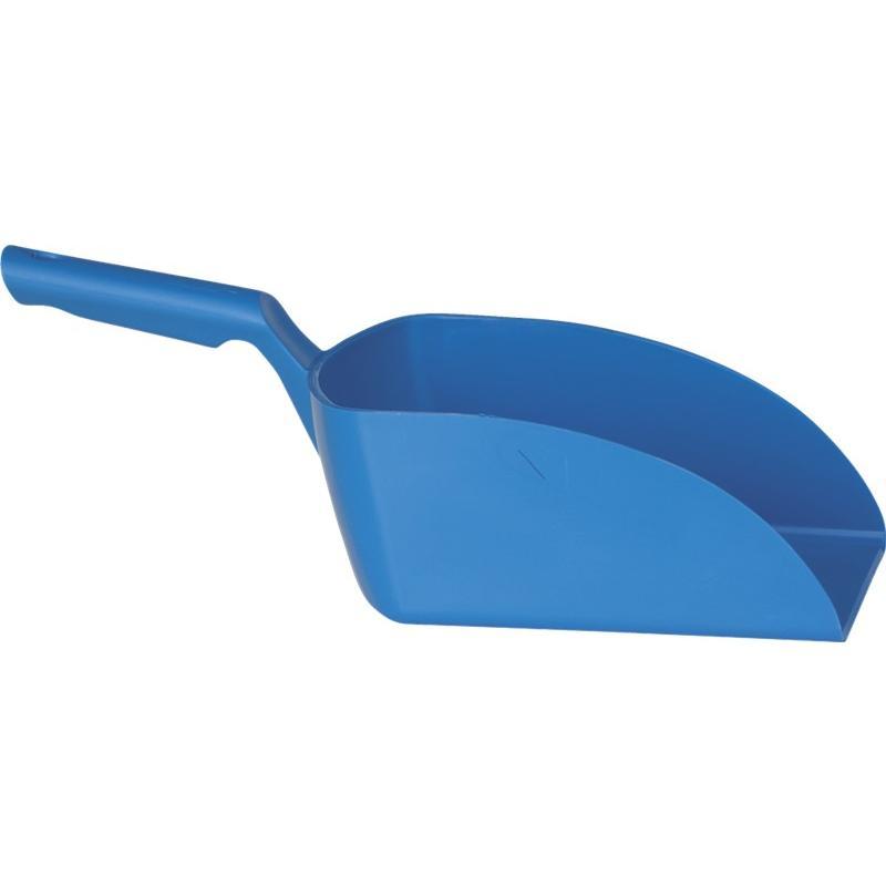 Vikan, Rechte handschep, groot, 2 liter, blauw