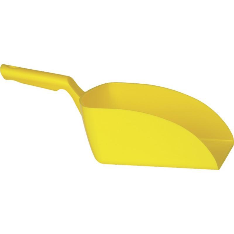 Vikan, Rechte handschep, groot, 2 liter, geel