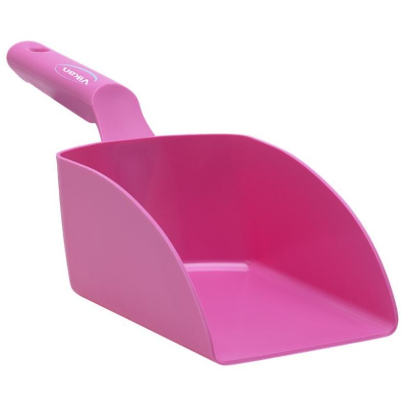 Vikan, Rechte handschep, medium, 1 liter, roze