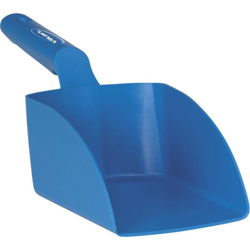 Vikan, Rechte handschep, medium, 1 liter, blauw