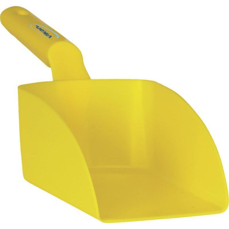 Vikan, Rechte handschep, medium, 1 liter, geel