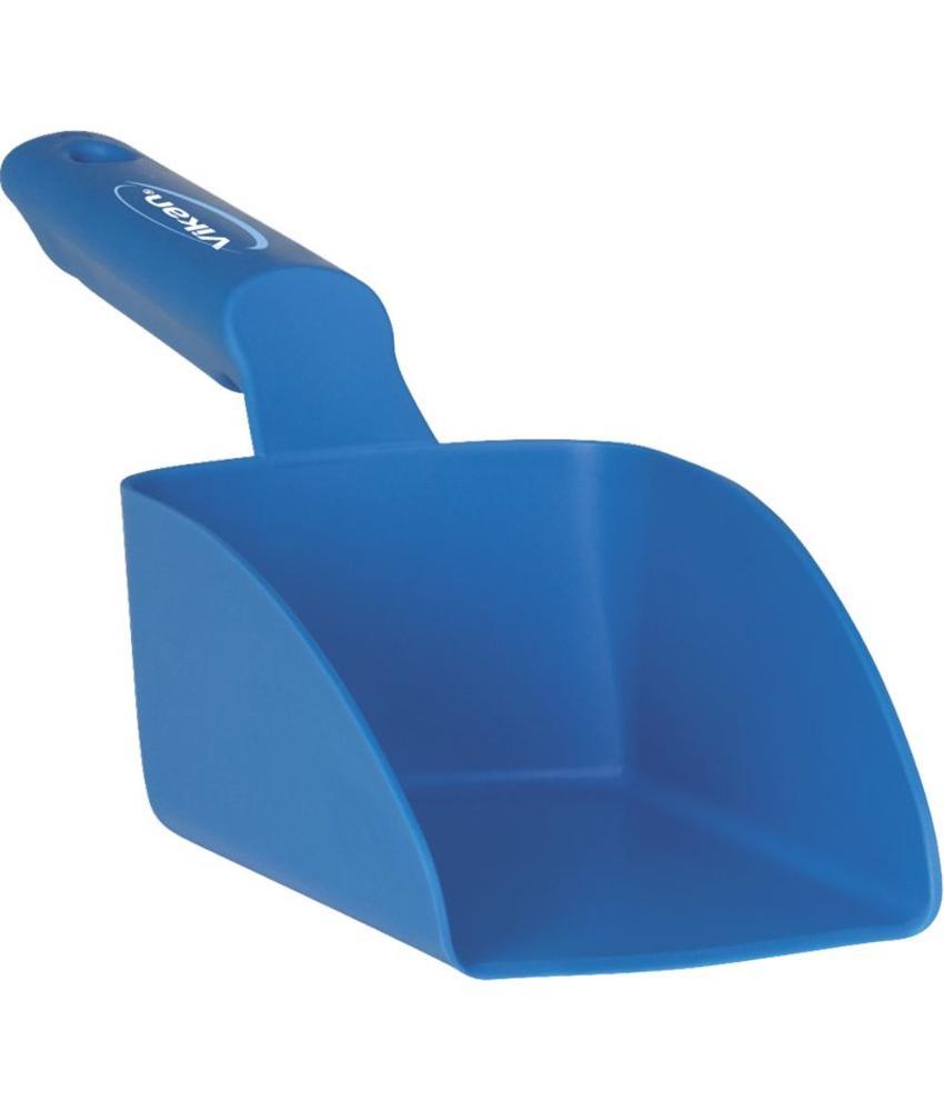Vikan, Rechte handschep, klein, 0,5 liter, blauw