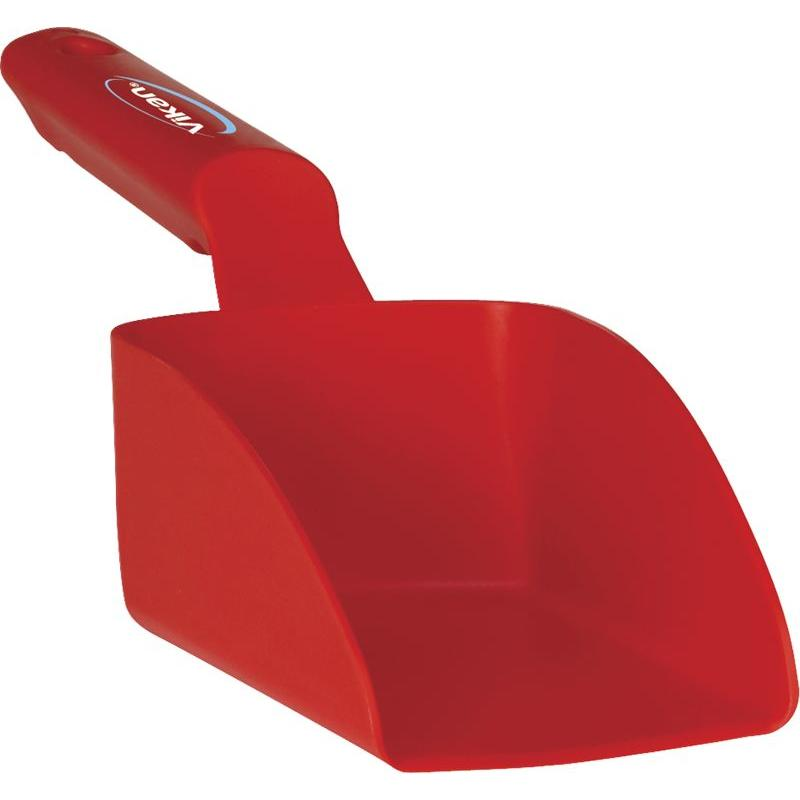 Vikan, Rechte handschep, klein, 0,5 liter, rood