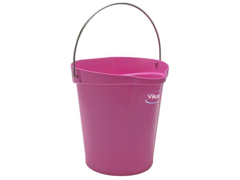 Vikan Vikan, Emmer 12 liter, roze