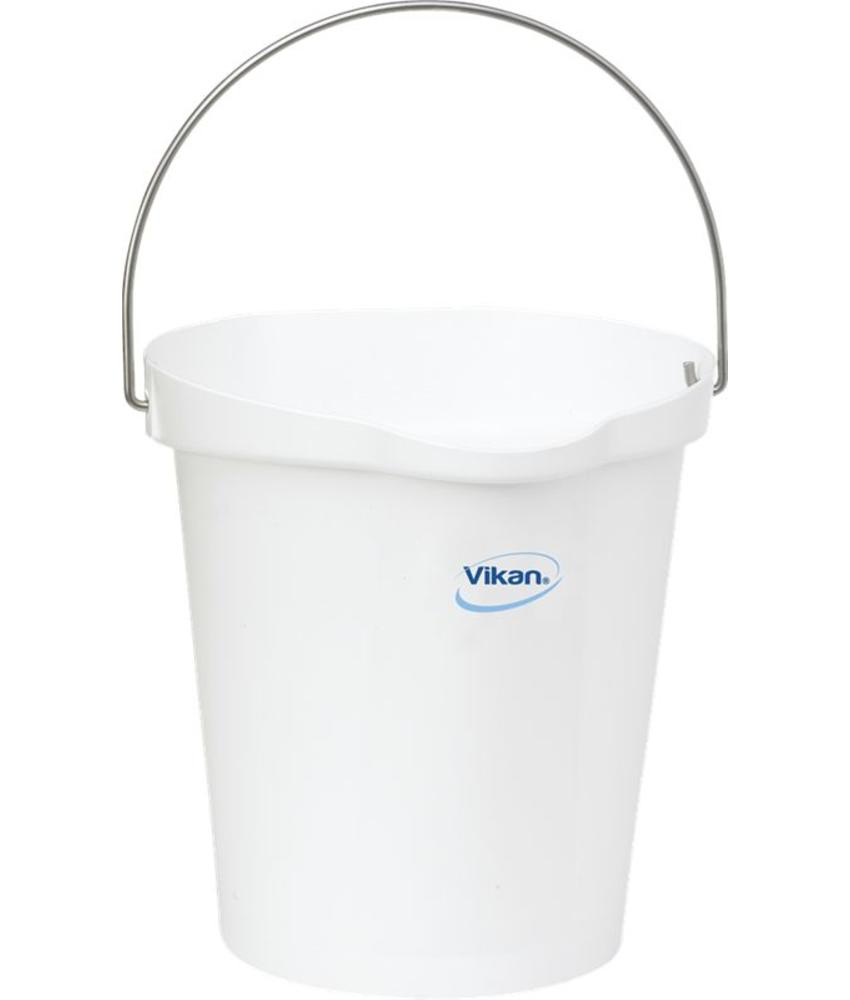 Vikan, Emmer 12 liter, wit