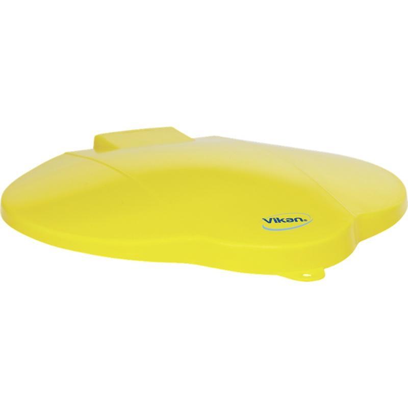 Vikan, deksel voor 12 liter emmer, geel