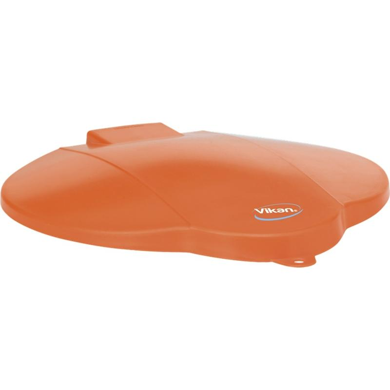 Vikan, deksel voor 12 liter emmer, oranje