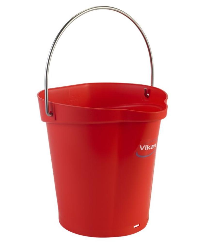 Vikan, Emmer 6 liter, rood