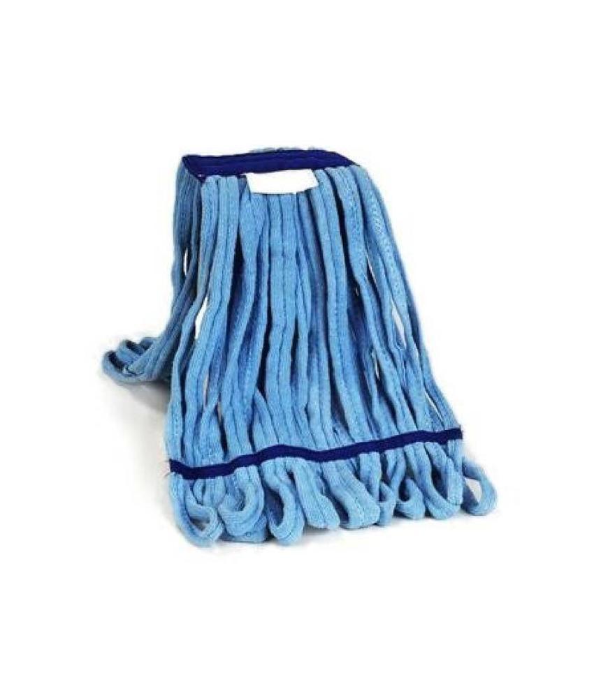 Microvezeldoek Mop blauw met band - 350 gram