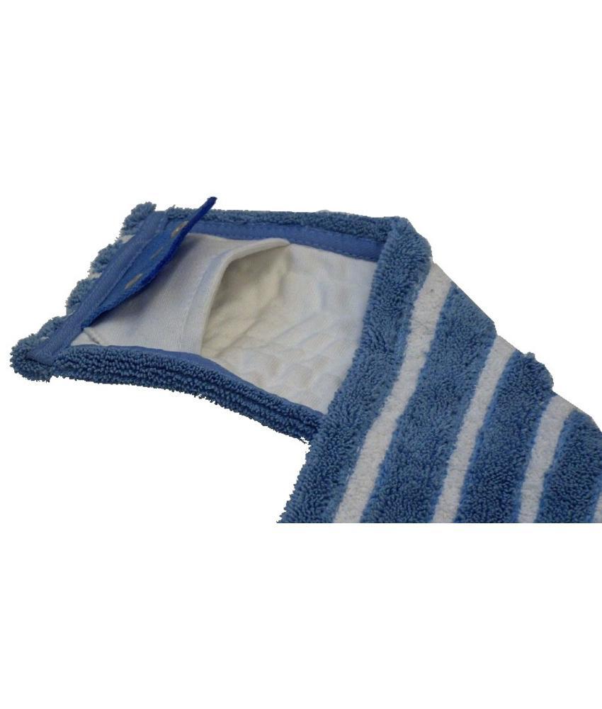 Microvezel-combi blauw/wit met insteekhoezen