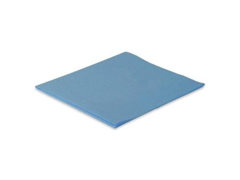 Eigen merk Microvezeldoek nonwoven 110 gram  - Blauw