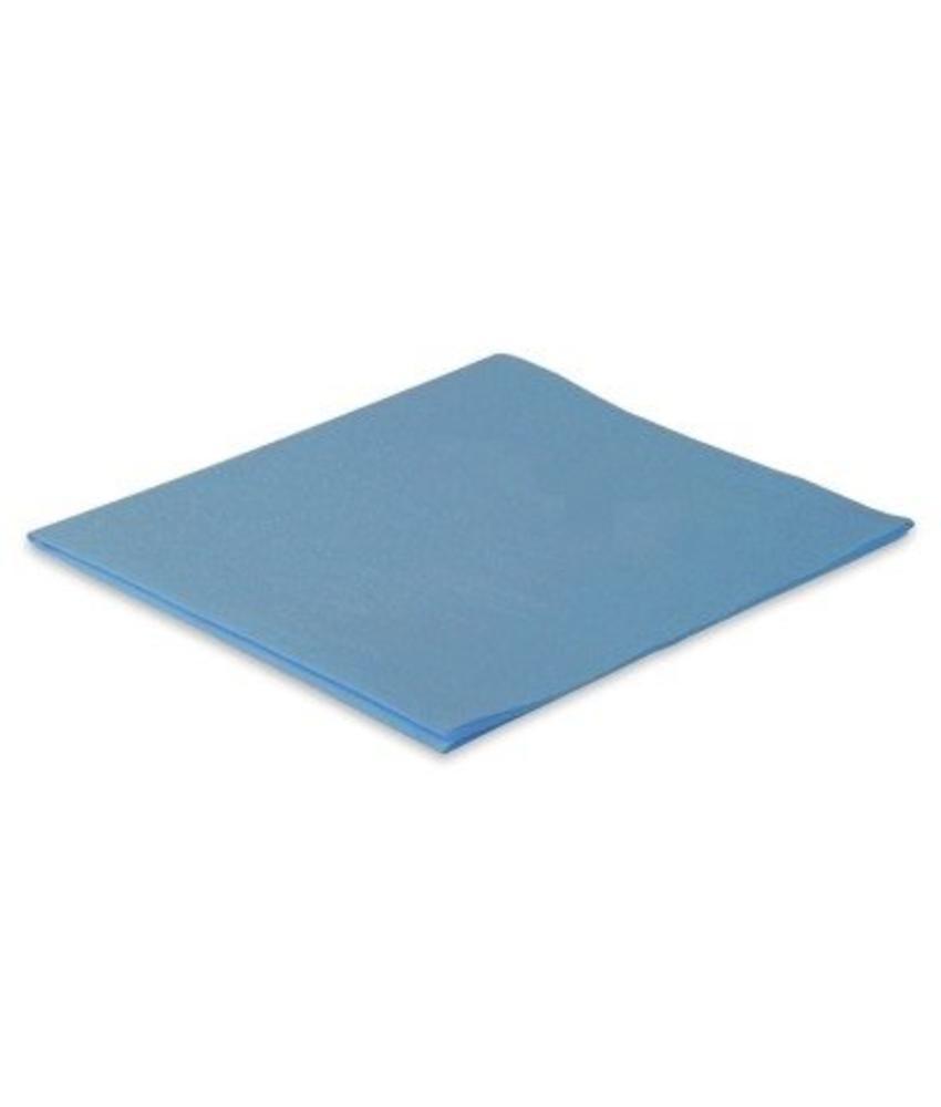 Microvezeldoek nonwoven 110 gram - Blauw
