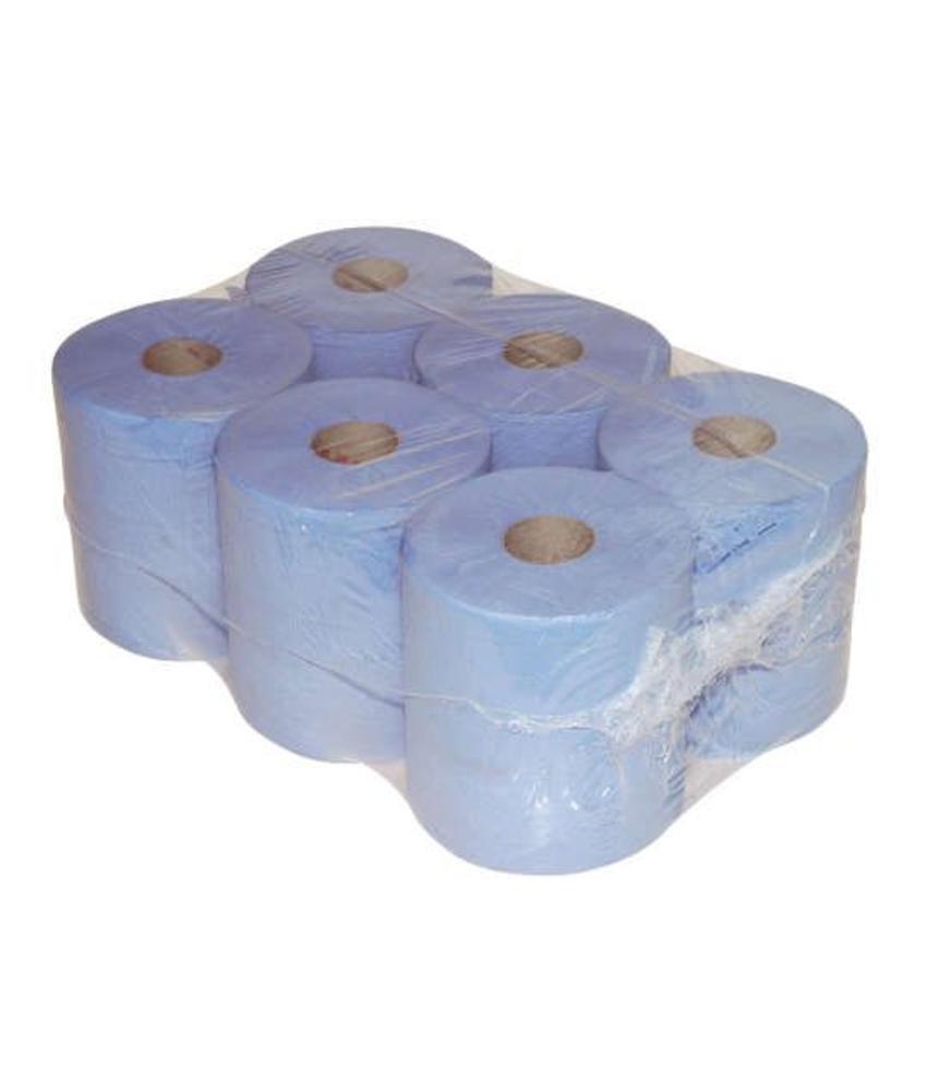 Euro Products 1-laags  Midi poetspapier blauw