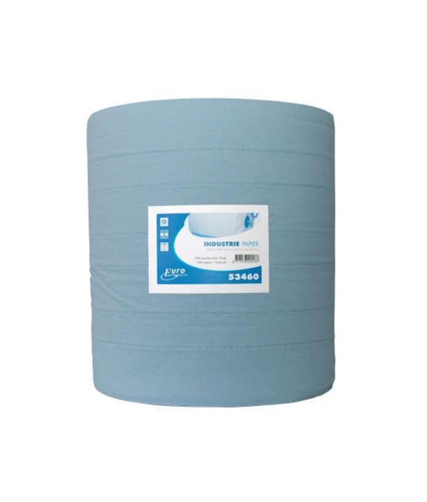 Euro Products 3-laags Industriepapier blauw recycled verlijmd
