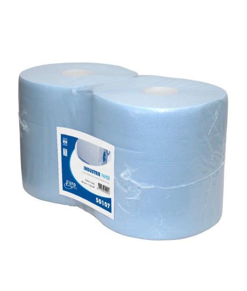 Euro blauw cellulose verlijmd, 2-laags