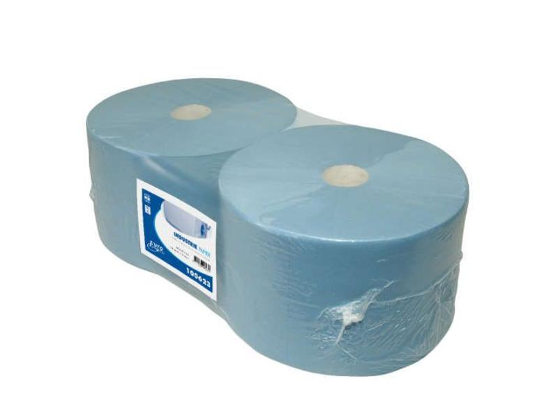 Euro Products Euro Products 3-laags Industriepapier blauw cellulose verlijmd