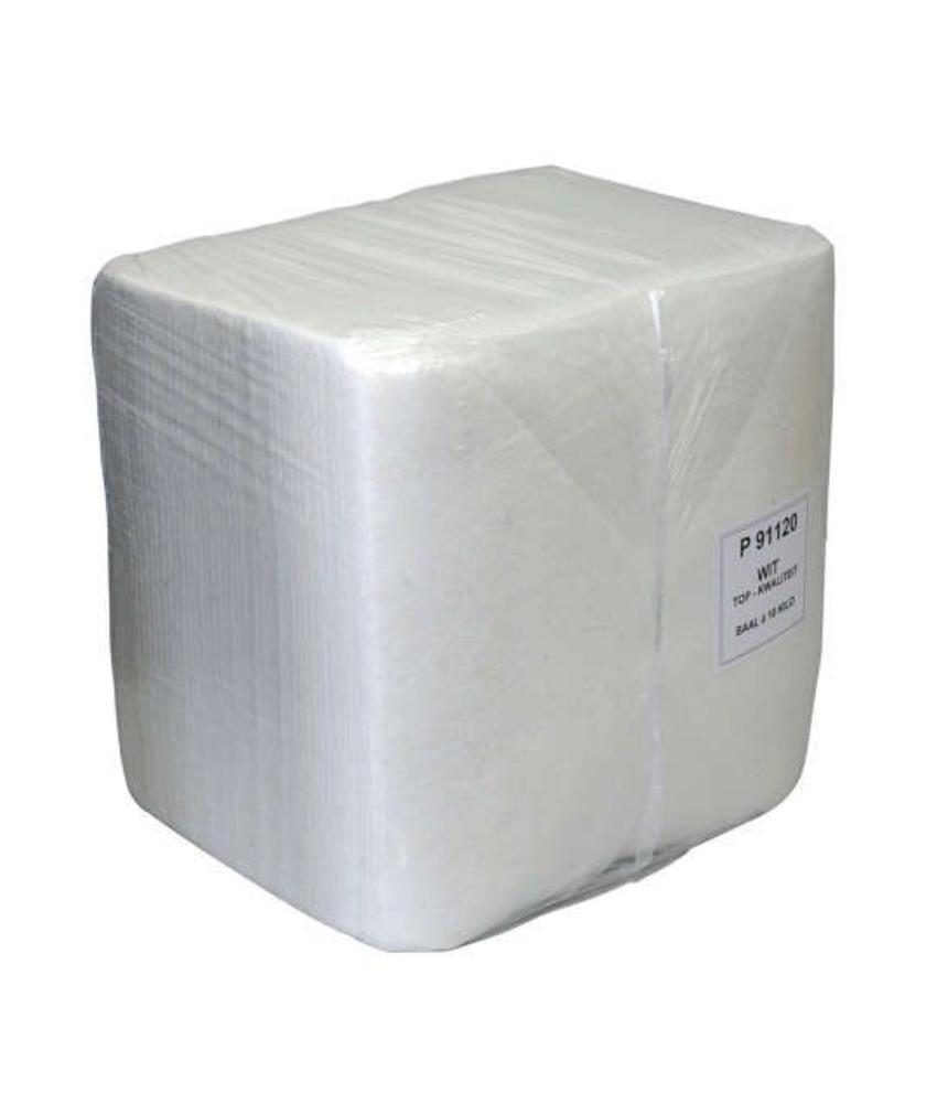 Witte doek A-kwaliteit, 40cm x 38cm