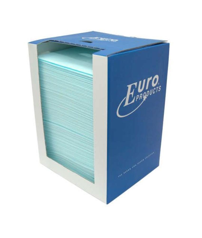Euro Toptex, sky-blue in dispenserdoos