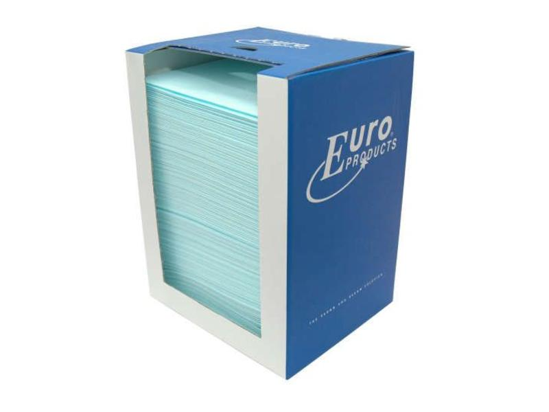Euro Products Euro Toptex, sky-blue in dispenserdoos