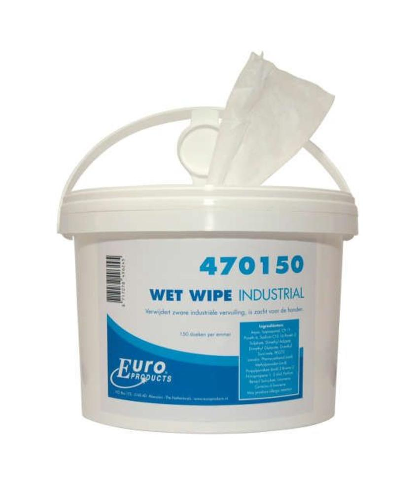 Euro Wet Wipe handcleaner industrial - 1 emmer