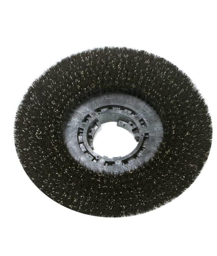 Wrijfborstel voor licht schrobben/uitwrijven/spraymethode