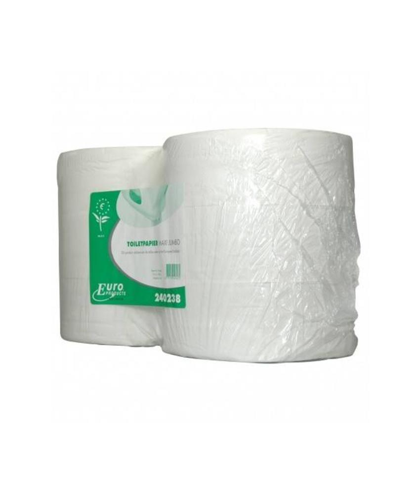 Toiletpapier tissue euro maxi jumbo, 2-laags