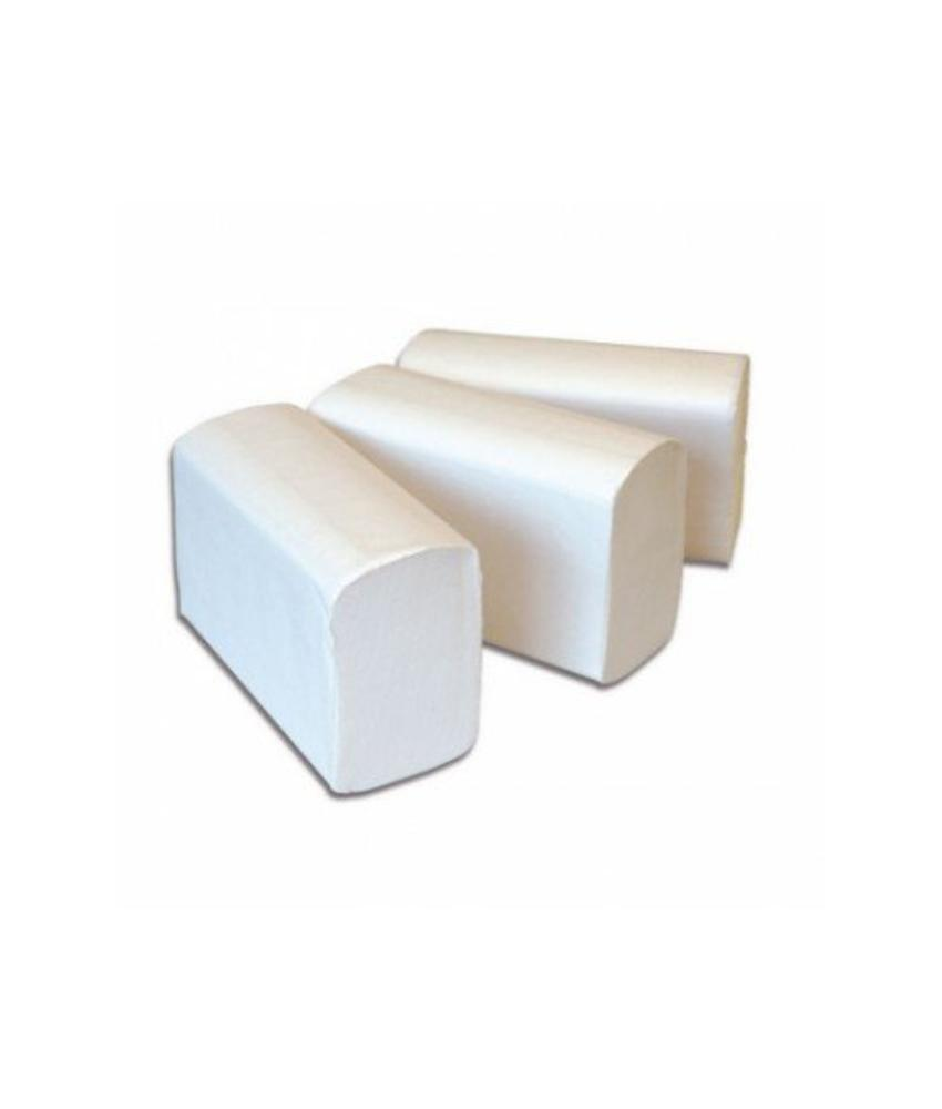 Vouwhanddoekjes Euro Interfold cellulose, 3 laags