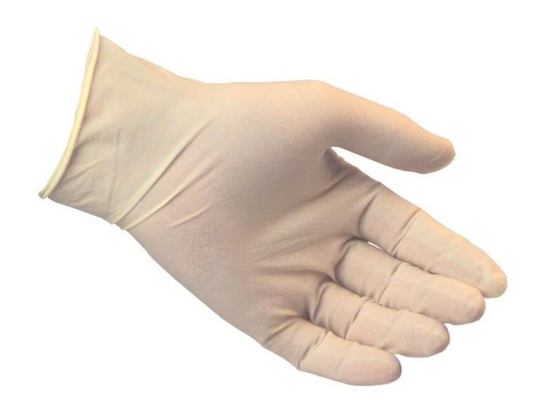 Latex handschoenen XL