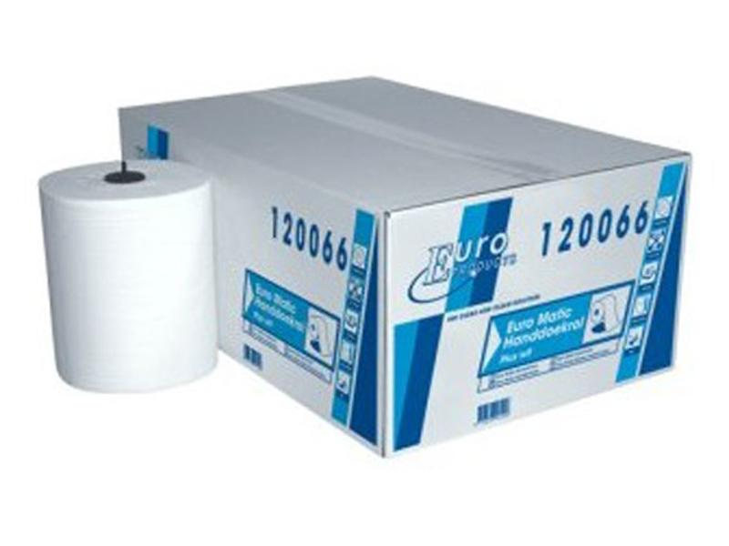Euro Products Papier Euro Matic plus wit, 2-laags