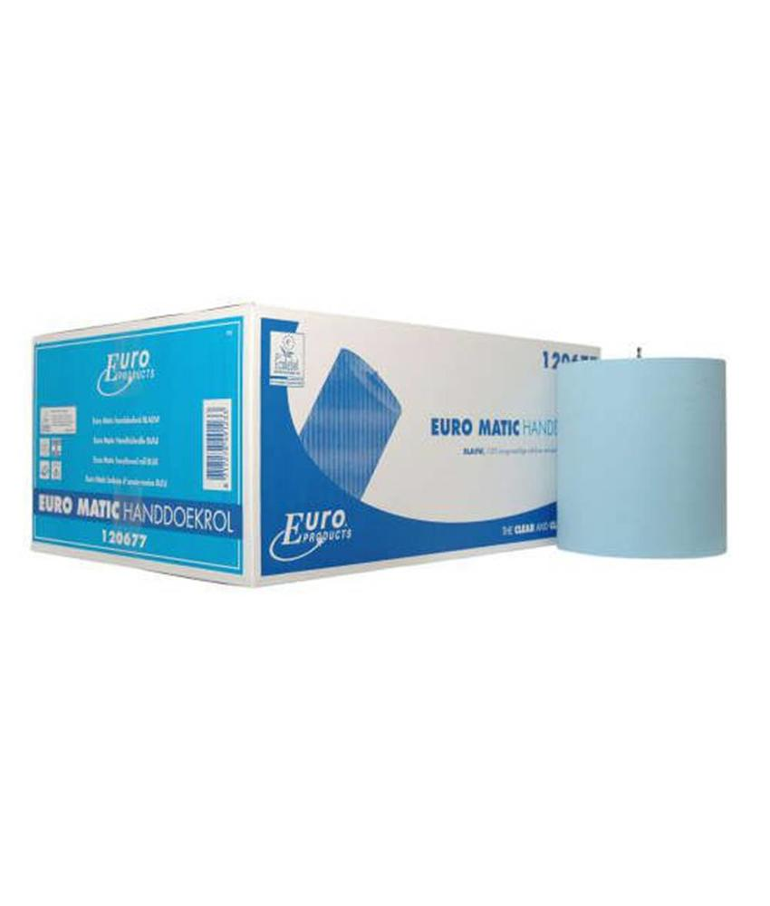 Papier Euro Matic plus blauw, 2-laags