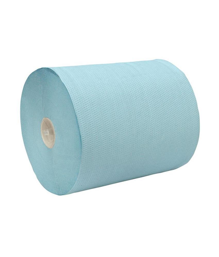 Euro Products 2-laags  Handdoekrol rol blauw