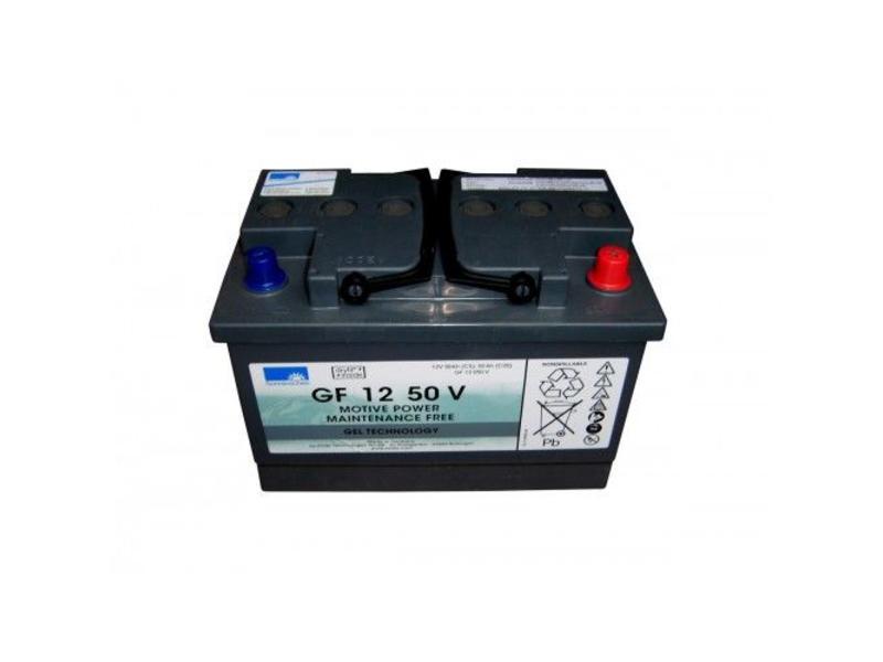 Johnson Diversey Tractiebatterij 12V, 50 Ah t.b.v. Taski swingo 455 B