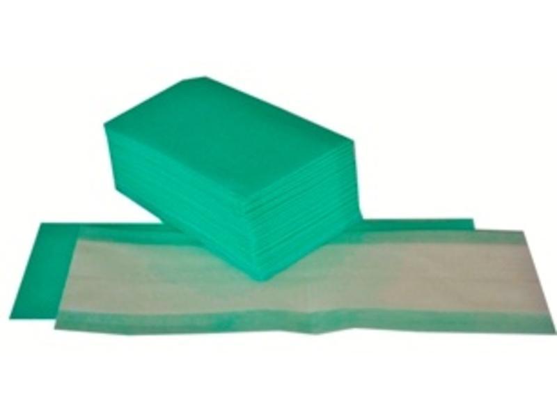Eigen merk Wegwerp vlakmop - groen