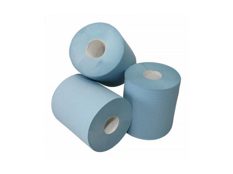 Euro Products Euro Products  1-laags Midi poetspapier blauw, zwaar