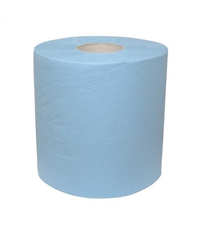 Euro Products 2-laags Midirol blauw verlijmd