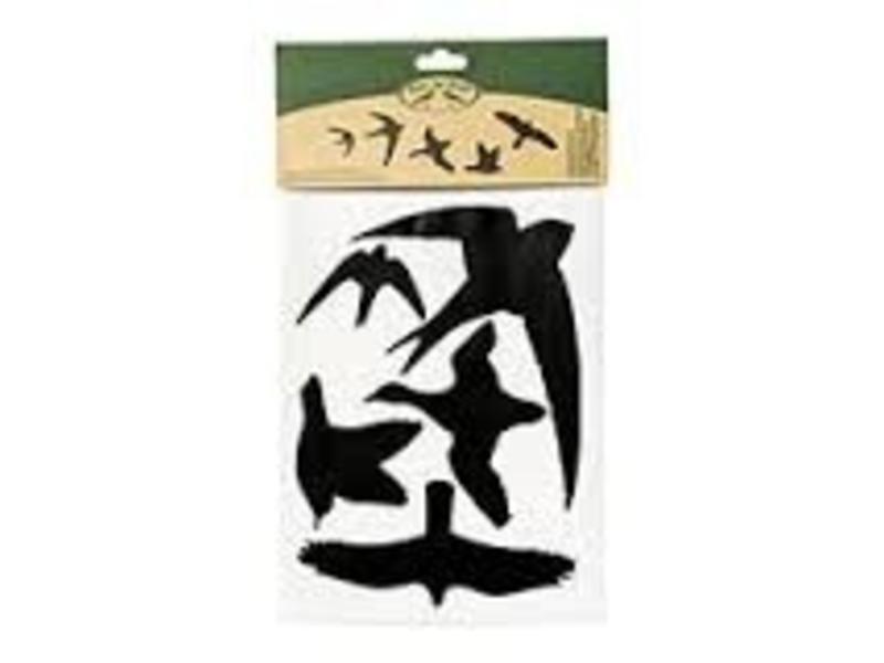Edialux Vogel stickers - 5 stuks