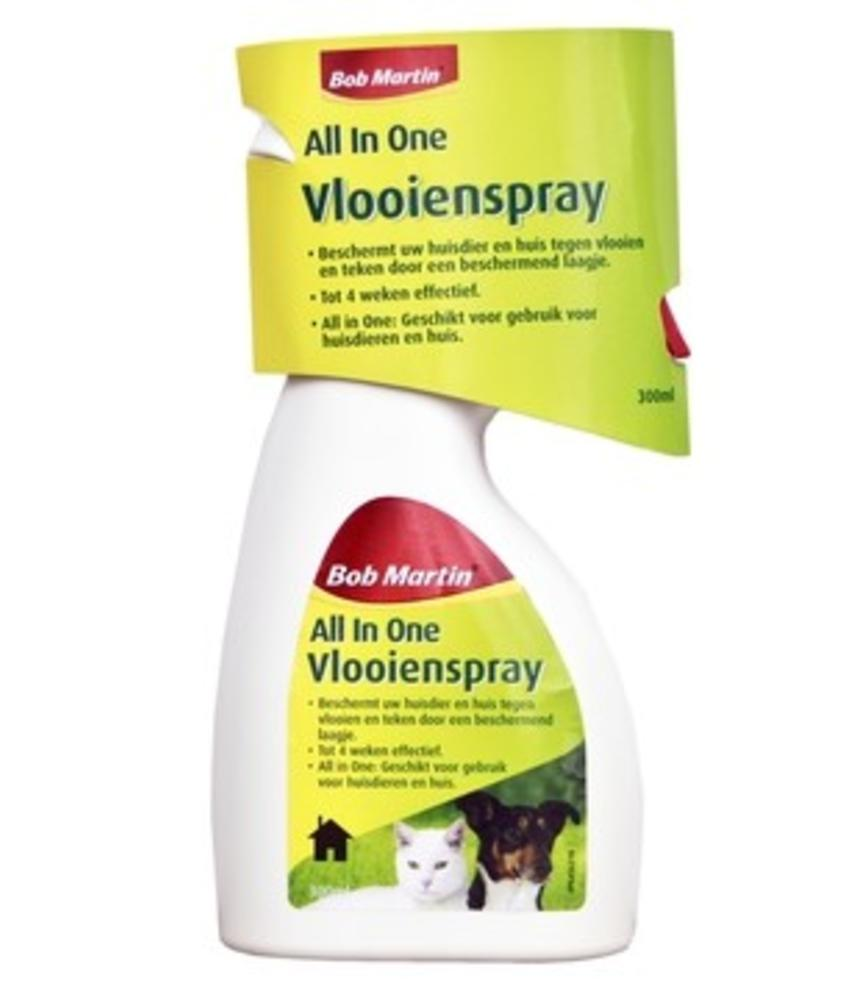 All in One Vlooienspray - 300 milliliter