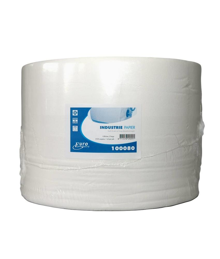Euro Products 2-laags Euro industriepapier, cellulose