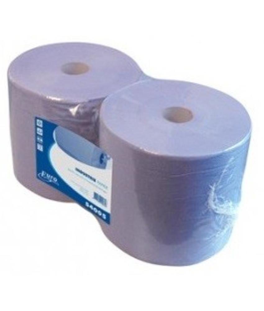Euro blauw recycled, 2-laags