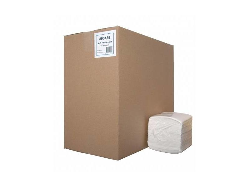 Euro Products Euro Products  Soft-Tex pak 1/4 vouw wit