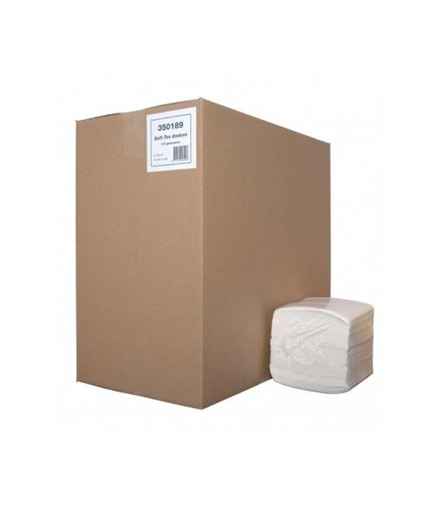 Euro Products  Soft-Tex pak 1/4 vouw wit