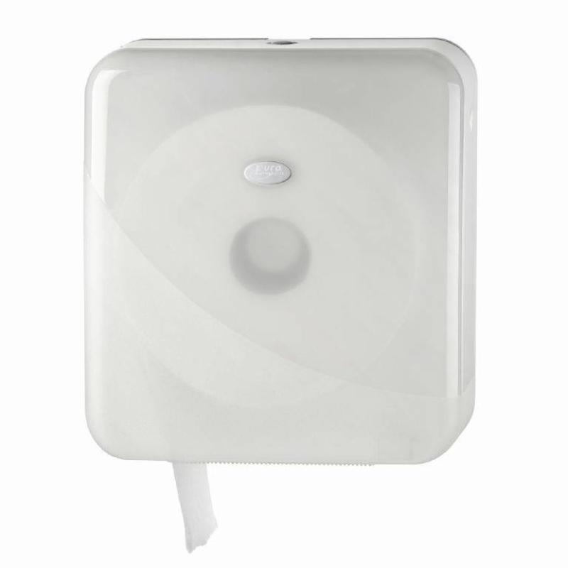 Euro Products Pearl White Jumbo toiletrolhouder - Maxi