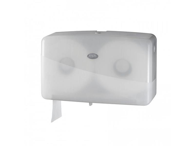 Euro Products Euro Products Pearl White Jumbo toiletrolhouder - Duo mini