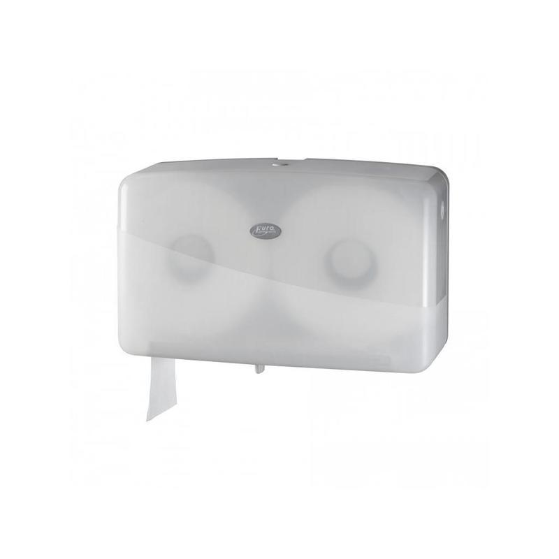 Pearl White Jumbo toiletrolhouder - Duo mini